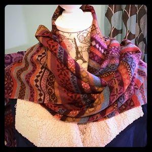 Beautiful Boho vintage style scarf